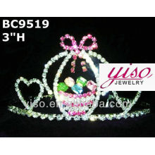 holiday crystal tiara